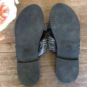 Frye Shoes - FRYE Ally Deco Stud Criss Cross Slide Sandal,💓